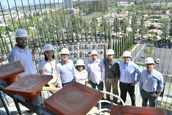 Structural and seismic engineering expert Bryan Seamer breaks down the seismic retrofit at Orange County's Tower of Hope.