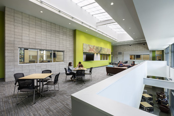 K-12 school facility designers Kate Mraw and Emily Koch describe the many benefits of environmental graphics.
