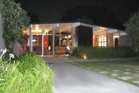 LPA Eichler Homes of Southern California on bedroom night, window house night, landscaping house night, kitchen night, bathroom night, home house night, water house night,