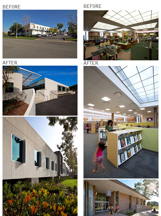 Adaptive Reuse Building Before After by LPA Architects