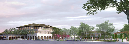 New Brentwood Civic Center Rendering