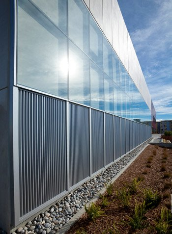 Ventilated Trombe Wall at CSU East Bay