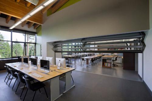 Flexible K-12 School Classroom, designed by LPA Inc.