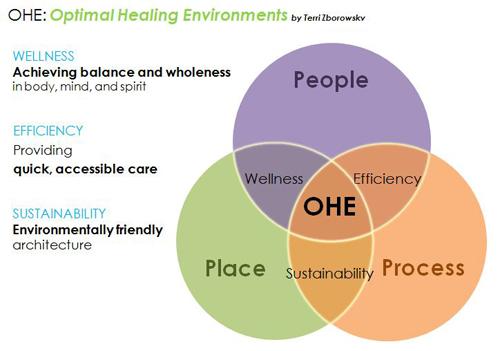 Optimal Healing Environments Graphic