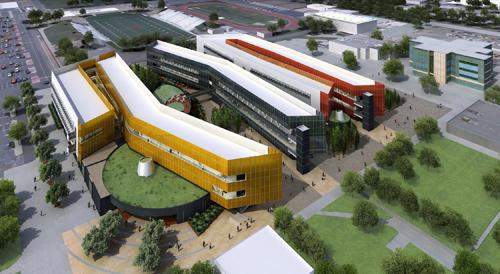Aia orange county honors exceptional higher education design - Interior design institute orange county ...
