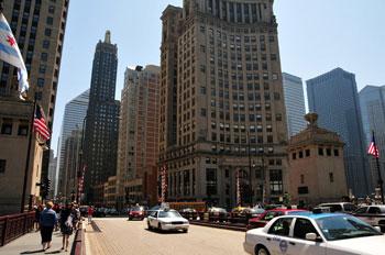 Walkable Chicago Urban Street