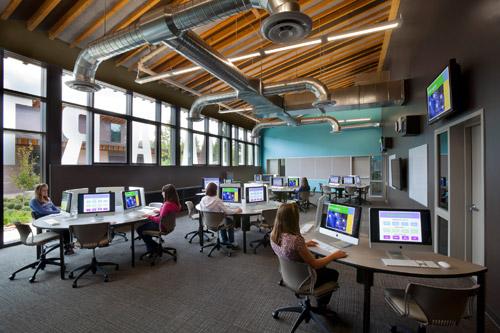 Career Tech Education K-12 School Facility designed by LPA Inc.