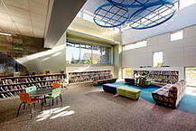 The Children's Area at the Chino Hills Library
