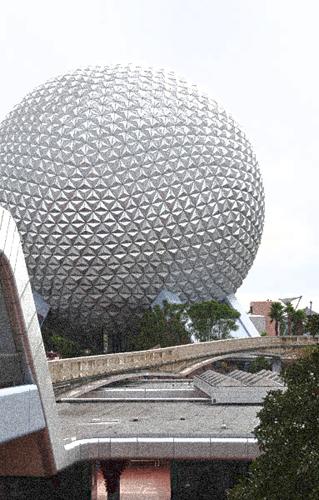 Disney's Architecture Epcot