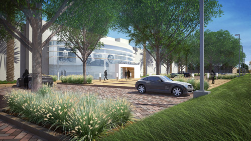 Edwards Lifescience Landscape design by LPA