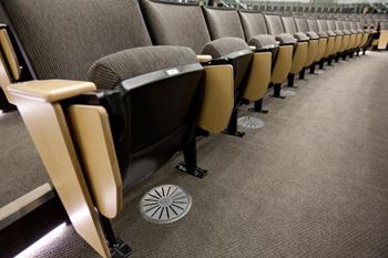 Displacement Ventilation at auditorium in JPL