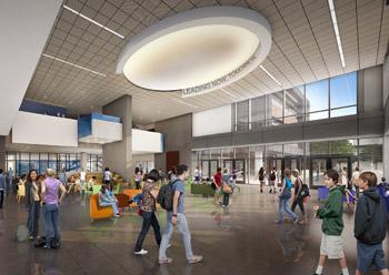LPA designed San Marcos High School StudentUnion