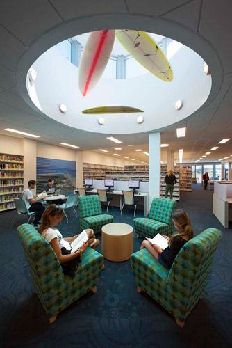 Malibu Library Design by LPA Architects