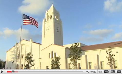 Newport Harbor High School Bell Tower