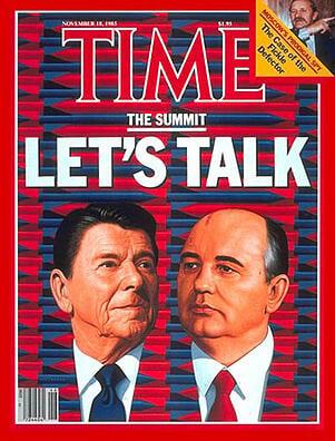 Reagan Gorbachev Time Magazine Cover