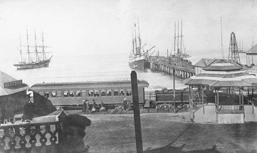 Historic Red Car Line, Redondo Beach
