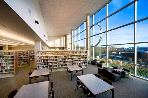 Redding Library Design by LPA Inc.
