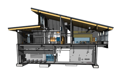 REVIT and BIM modeling is an integral technology in LPA's design process