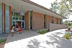Santa Fe Springs Library Entrance