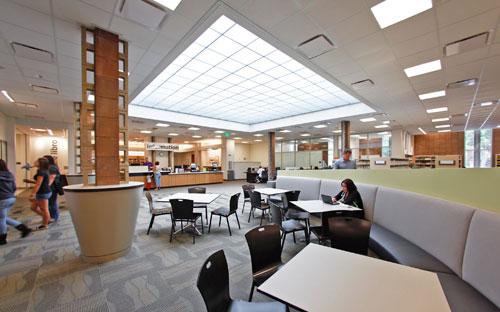 Santa Fe Springs Library Interior