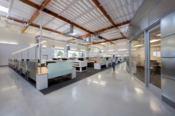 Interior Warehouse Renovation Southland Industries
