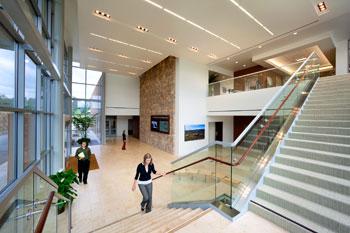Sustainable Interiors, Chino Hills City Hall