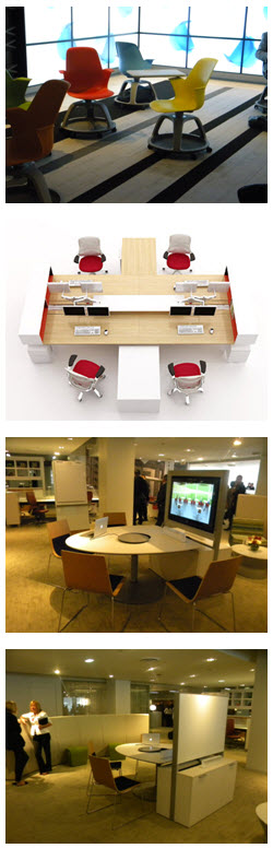 Flexible Campus Furniture used by LPA Interior Designers
