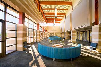 Flexible campus furniture installation