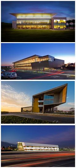 Glenn Carels California Architecture Collage