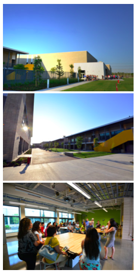 Long Beach Unified School District's newest High School invites community for a tour of the green school.