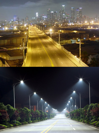 LED lighting results in less energy use, which is good for the environment and good for business.