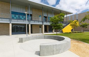 CTE K12 school design at South Tahoe High School by LPA's education group