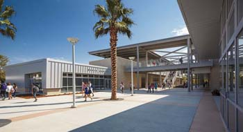 Wendy Rogers, Orange County's Newest Fellow of Architecture, work on Montgomery Middle School.