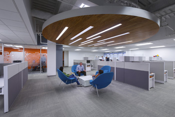 Across industries, company leaders are seeking progressive design firms to help them express their brand and transform their office interiors.