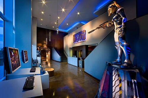 Blizzard Entertainment Corporate Office Branding Irvine
