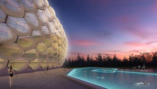 Net-Zero Aquatic Center